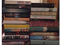 Job lot of 24x quality fiction books. Hardbacks and paperbacks £5 for the lot. LS16