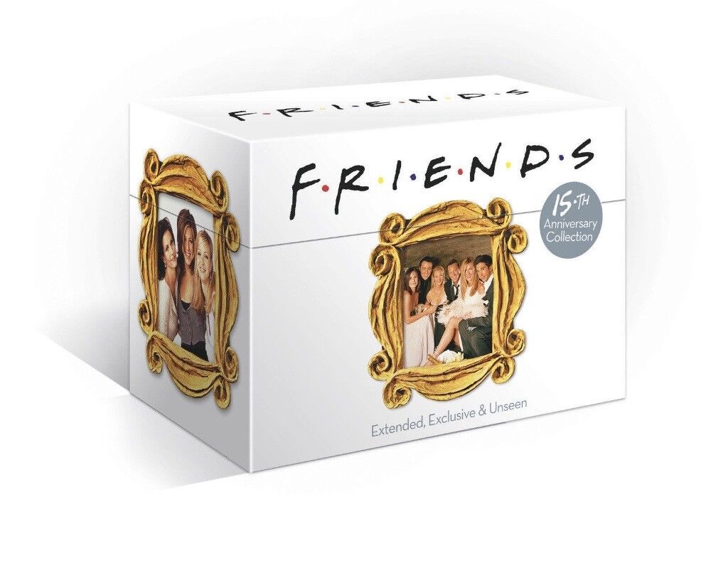 NEW SEALED FRIENDS COMPLETE SEASONS 1-10 15TH ANNIVERSARY DVD BOXSET ...