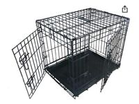 Ellie - Bo 36 Inch dog cage in black (Brand new sealed in box )
