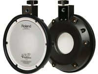 Roland PDX-8 VDRUMS Electronic snare tom Pad Percussion etc Trigger dual zone