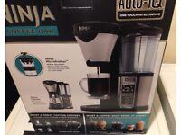 ☕️NEW NINJA COFFEE BAR ONE TOUCH INTELLIGENCE RRP £90/£120 £70 TODAY PLEAS READ