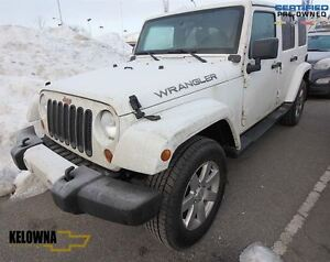 2012 Jeep WRANGLER UNLIMITED Sahara, 4x4, Leather, Removable Top