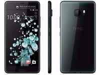 NEW Latest HTC U Ultra - 64GB - Brilliant Black Android Phone UK SEALED STOCK o2