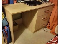 Computer desk and office chair