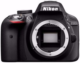 Nikon D3300 boxed body only with all software and paperwork £189