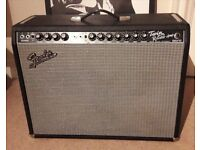 FENDER 65 TWIN REVERB REISSUE electric guitar amplifier amp valve tube combo