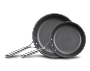 NEW Calphalon Unison Nonstick Slide Surface Omelette Fry Pan, 10-Inch and 12-Inch, Black