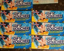 Wet and wild free entry vouchers x7