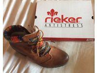 Genuine Rieker Antistress Boots - Size 6