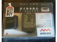 Brand New Current Cat Eye Strada Wireless Bike Computer