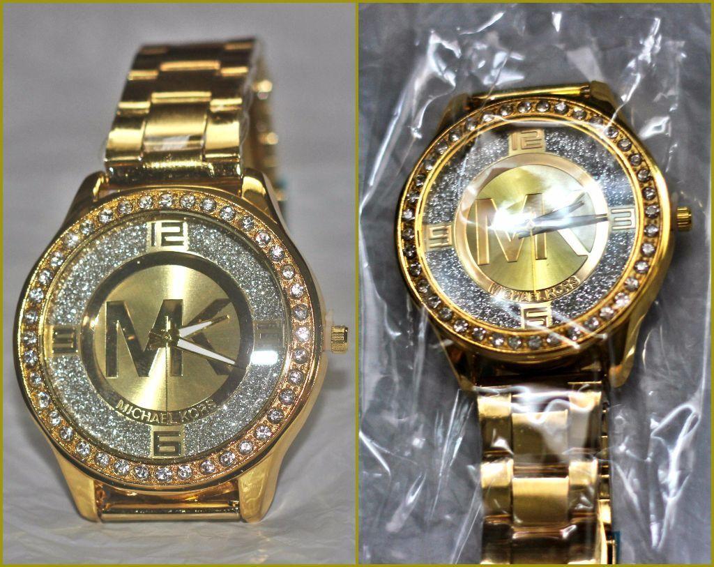 only 4 left brand new gold michael kors mk