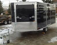 ALUMINUM ENCLOSED UTILITY TRAILER - 6X12