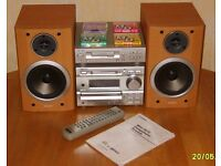 Sony DHC-MD373 Micro System, MiniDisc-CD Player-AM/FM Tuner cassette deck