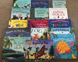 Julia Donaldson Children's books x 15