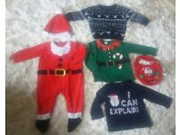 Christmas clothing 6-9 months
