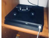 PS4 1TB Slim With Games and Headset