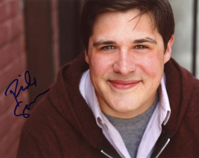"""Rich Sommer """"Mad Men"""" AUTOGRAPH Signed 8x10 Photo C ACOA"""