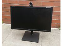24'' Tiltable PC monitor Samsung SyncMaster VC240 FULL HD / NO CABLES / NO HDMI