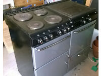 Stoves Newhome Range Cooker 1000EDL plus extractor hood