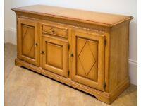 Solid Hardwood Sideboard