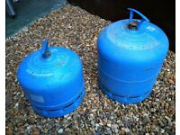CAMPINGAZ 907 AND 904 EMPTY EXCHANGEABLE CAMPING GAS CYLINDERS £15 EACH
