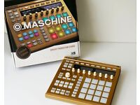 Maschine mk2 limited edition Gold ( With 7 Machine Packs) grab it before it goes.