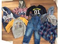 Boys Bundle Clothes 18-24 2-3