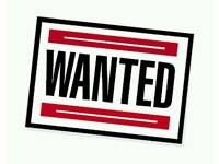 Wanted free fish tank