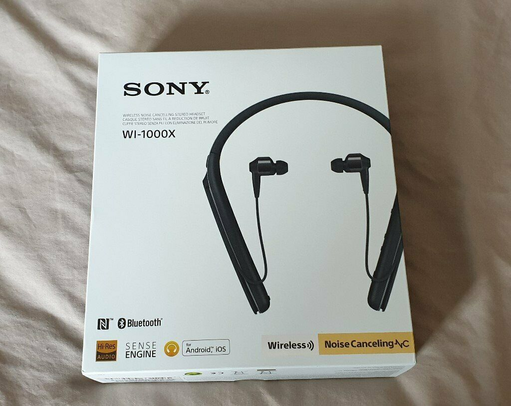 0c577a165a1 Sony WI-1000X Wireless Bluetooth Headphones brand new and boxed