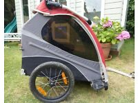 Burley Solo Bike Trailer - lightweight, comfortable, safe and sturdy single child bike trailer