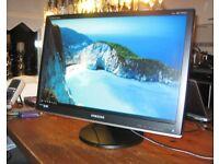 "Samsung SyncMaster 2493HM - LCD monitor - 24"""