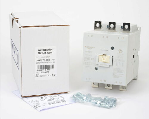 AUTOMATION DIRECT GH15NT-3-00B GH15 SERIE  IEC CONTACTOR 150A