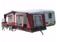 1050cm tuscany pyramid caravan awning great condition very little use £250 ovno