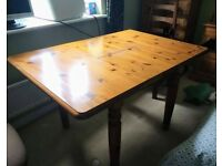 Ducal Extendable Solid English Pine Dining Table