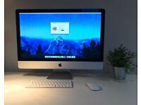 "Apple iMac 27"" with 5K Retina, 3.8GHz, 16GB RAM, 8GB Radeon 580 (June, 2017)"