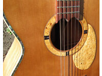 guitar acoustic hand made