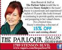 HAIR SPECIAL with STACEY !
