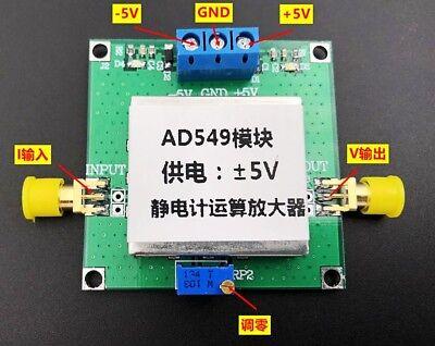 Ad549 Electrometer Amplifier Ph Electrode Buffer Vacuum Ion Gauge Meter