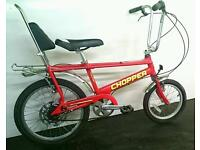 Raleigh Chopper Bike in Excellent Condition Fully Working Delivery Available.