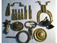 joblot of vintage furniture hardware