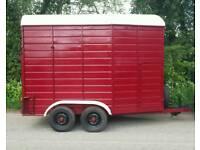 Double horse trailer £695