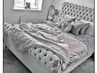 🔴🔵FREE NEXT DAY DELIVERY CLEARANCE SALE LUXURY DIVAN AND SLEIGH BEDS WITH MATTRESS 🔴🔵