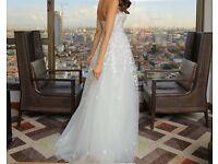*STUNNING* Mira Zwillinger 'Charlie' designer wedding dress