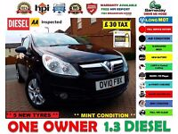 2010 (10) VAUXHALL CORSA ***1.3 DIESEL*** 80 MPG *** £30 TAX / YEAR *** LONG MOT *** FIESTA KA POLO