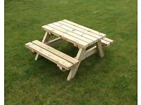 childrens heavy duty picnic tables