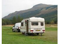Bailey Pageant 2/3 berth caravan with awning. Portaloo, cooker fridge etc. good tyres