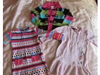 Lovely girls dresses and a cardigan for £5, size 2-3 yrs