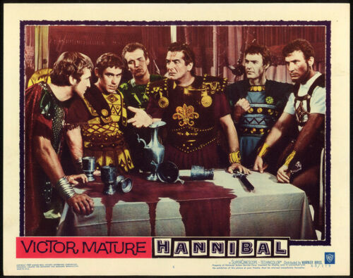 HANNIBAL (1960) Original Lobby Card