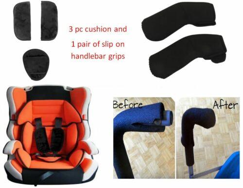 3 pc Cushion Covers Handlebar Slip Grips for BRITAX Baby Kid Stroller Car Seat