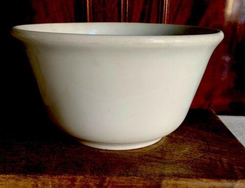 Antique English White Ironstone Bowl Cache Pot Planter